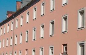 Ansicht der Wohnanlage Duererstr in Linz-Kleinmünchen