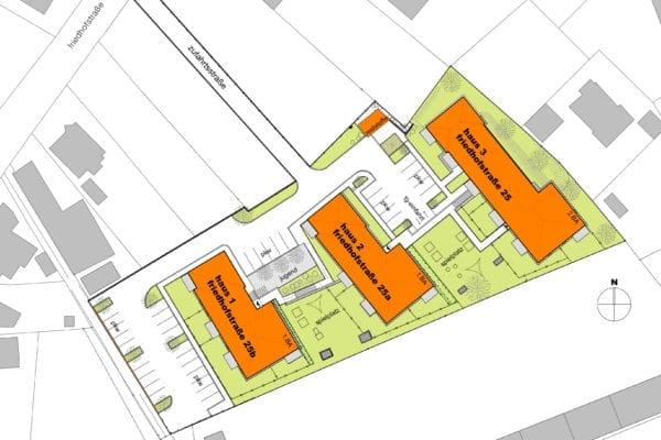 neue Mietwohnungen in Braunau Friedhofstraße
